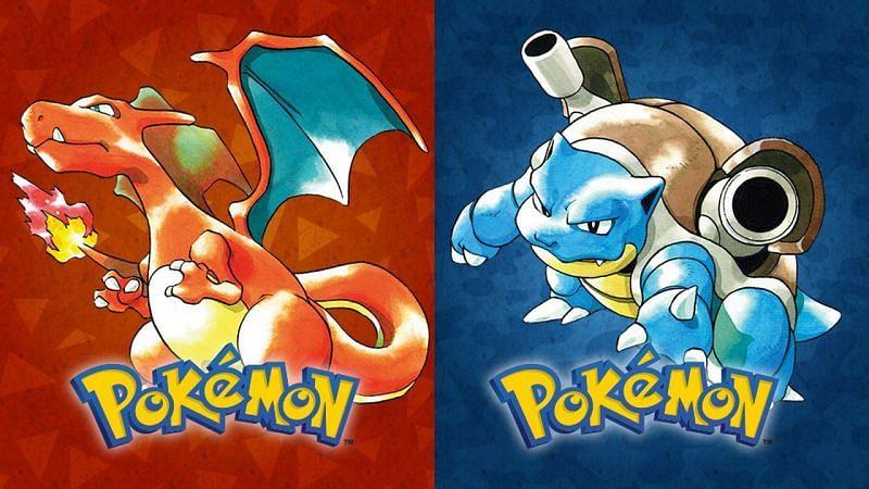Pokemon Red and Blue box-art (Image via Game Freak)