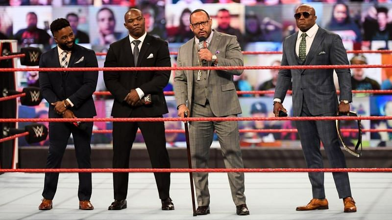 The Hurt Business broke up on RAW.