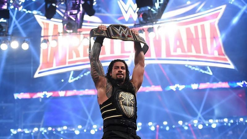 Roman Reigns defeated Triple H in the main event of WrestleMania 32 to become the WWE World Heavyweight Champion