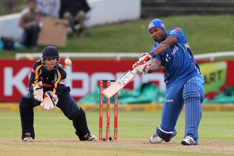 Catch me if you can: Kieron Pollard in Champions League T20