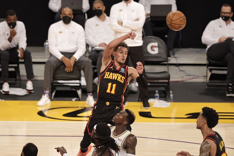 Atlanta Hawks Trae Young (#11) has been in great form this season.