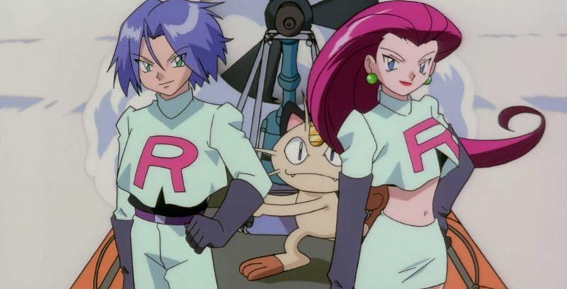 Team Rocket in the anime (Image via The Pokemon Company)