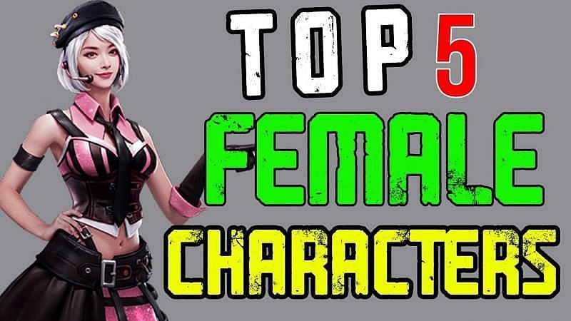 Best Female Characters in Free Fire (Image via TGvarunYT/YouTube)
