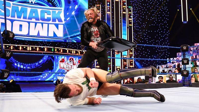 Edge and Daniel Bryan on SmackDown.