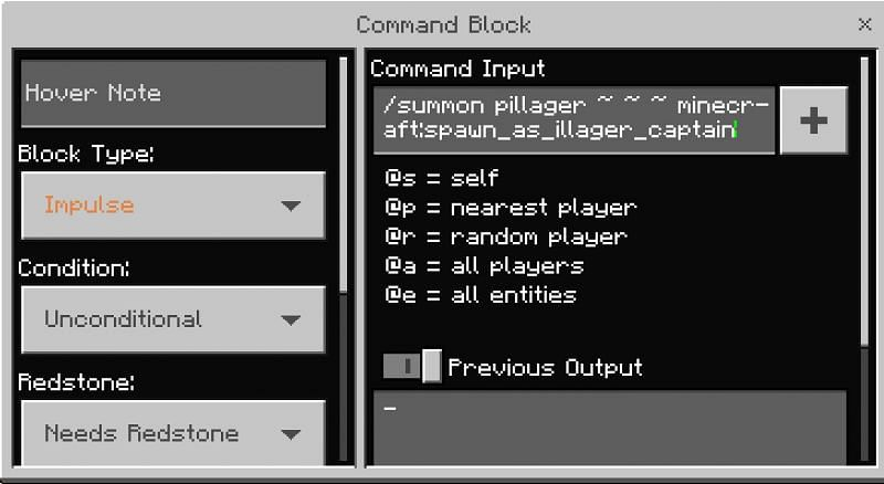 There are a multitude of ways to use the command block, but for today let's go over one of the basics