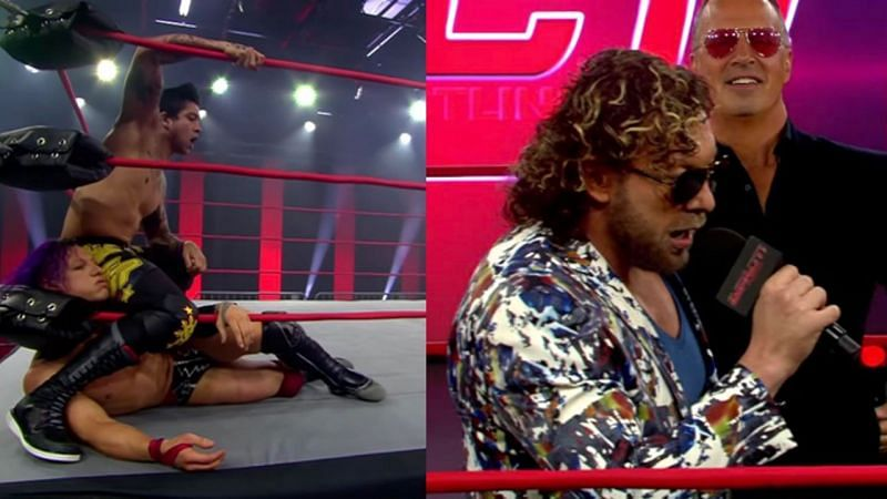 Kenny Omega promises to make history; TJP battles Ace Austin in a stellar rematch
