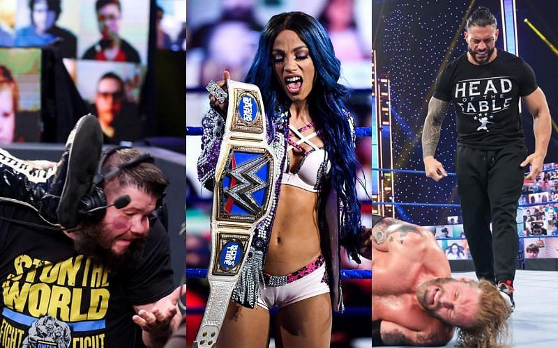 The g-home show of WWE SmackDown had its highs and lows