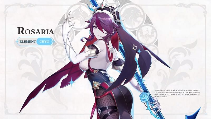 Rosaria (Image via Mihoyo)