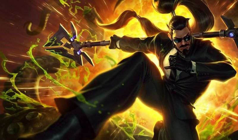Xin Zhao will also undergo a minor kit change in League of Legends patch 11.6 (Image via Riot Games)