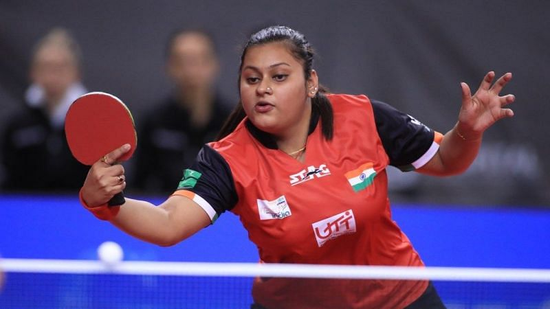 Soumyadeep Roy expects Sutirtha Mukherjee (in picture) to cause some upsets in Tokyo Olympics. (Image Source: Olympic Channel)