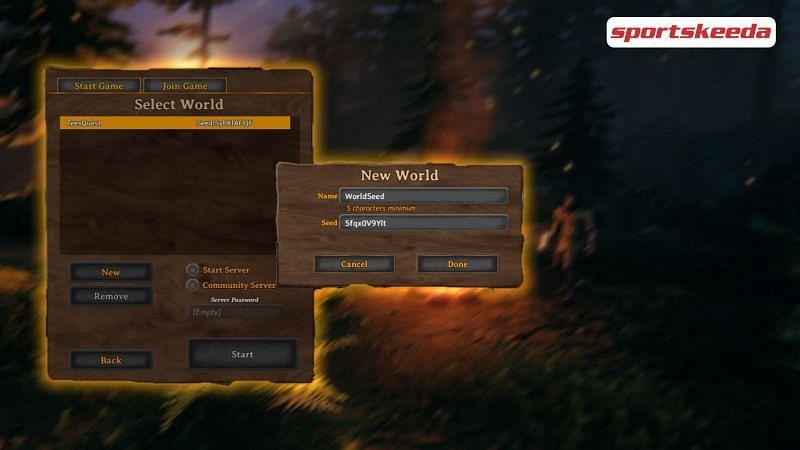 Everything to know about world seeds in Valheim (Image via Sportskeeda)