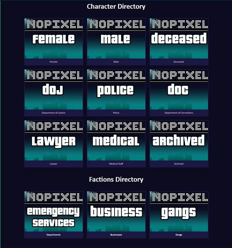 The popularity of NoPixel can be attributed to how Koil created it (Image via NoPixel Wiki)