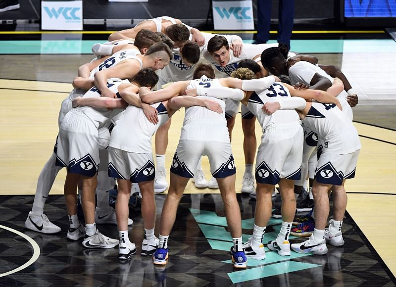 The Brigham Young Cougars finished with a 20-6 overall record