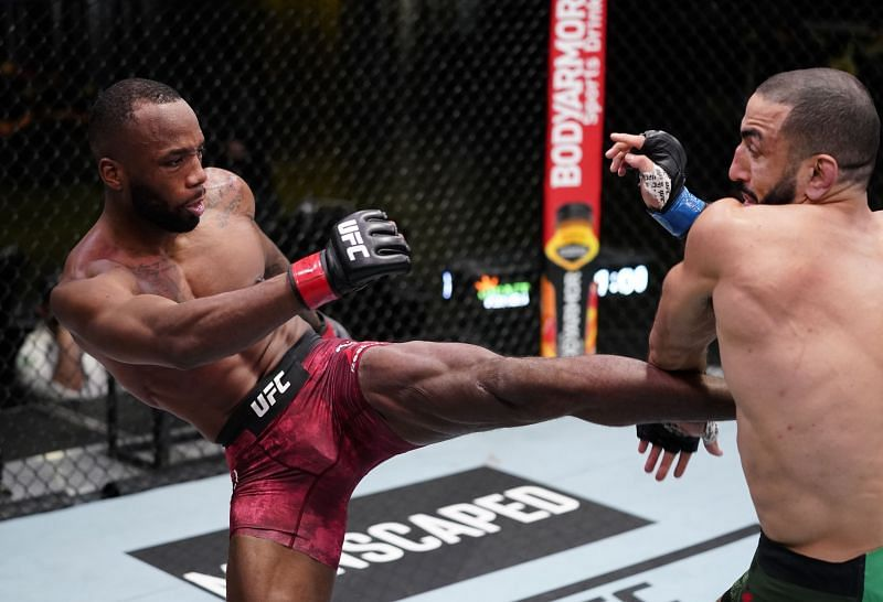 Leon Edwards is currently ranked as one of the UFC