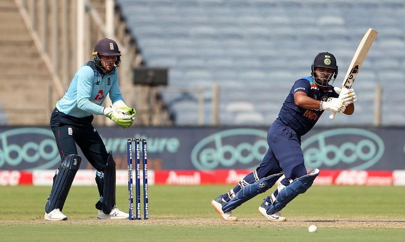 Rishabh Pant played an enterprising 78-run knock in the final ODI against England