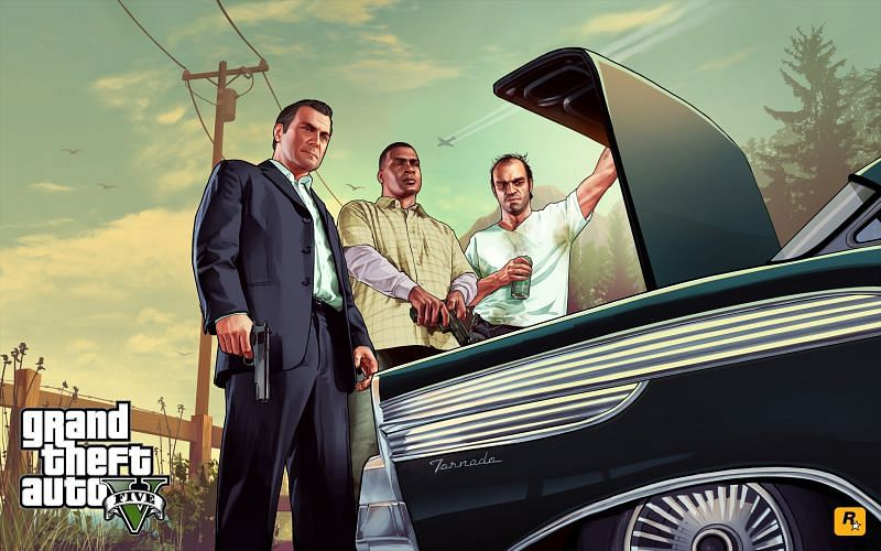 GTA Online appeared to confirm that Option C is the canon ending to GTA 5 (Image via Rockstar Games)