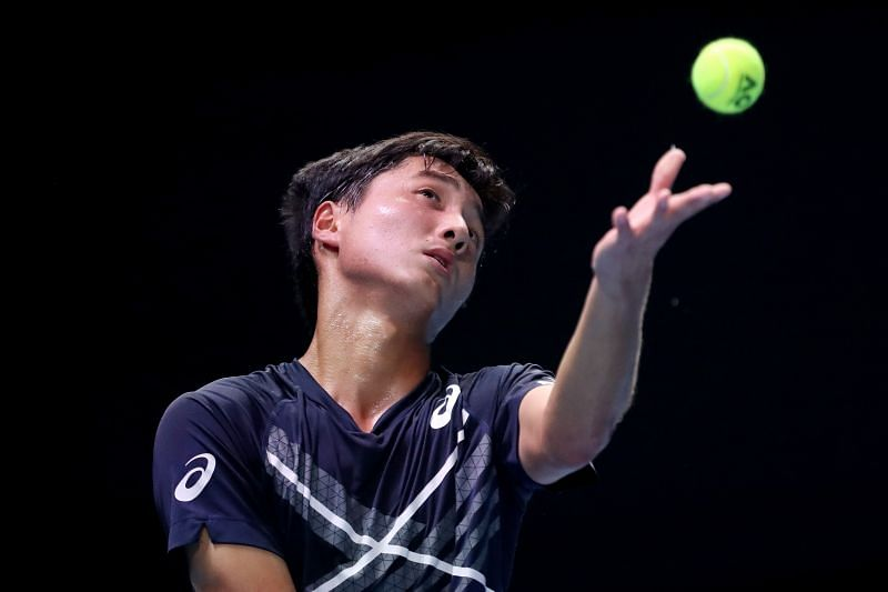 17-year-old Shintaro Mochizuki is entering the main draw of an ATP tournament for the second time