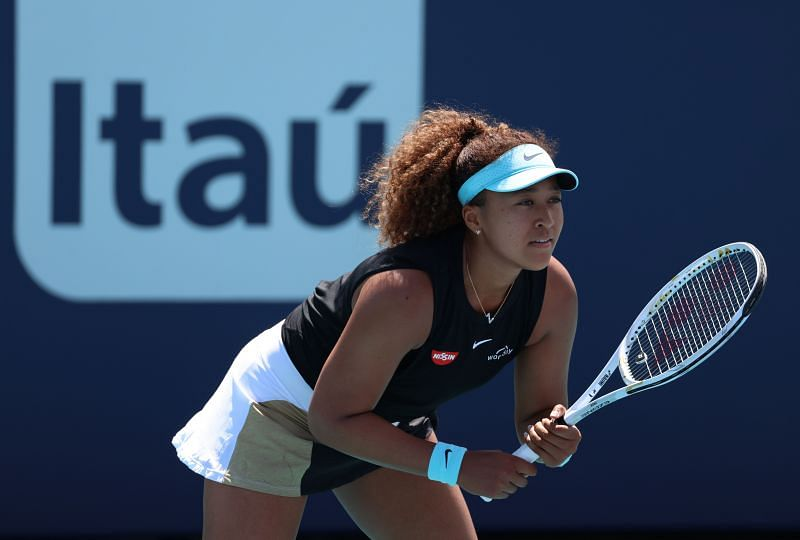 Naomi Osaka at the 2021 Miami Open in Miami Gardens, Florida