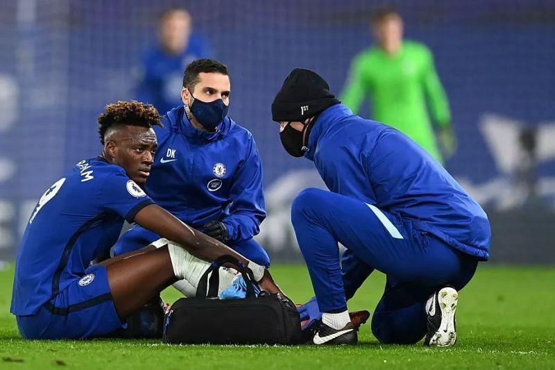 Tammy Abraham will continue his rehab during the international break