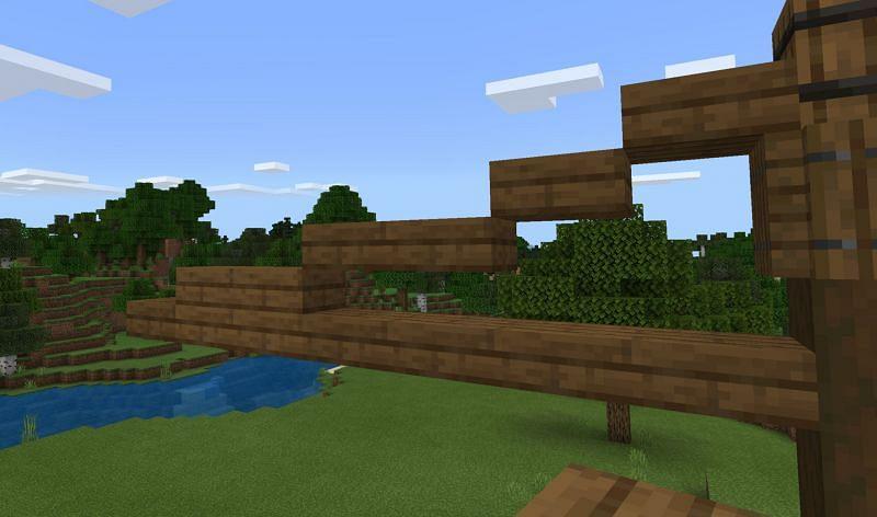 Crane arm (Image via Minecraft)