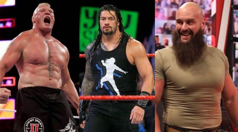 WWE Fastlane में रोमन रेंस का रिकॉर्ड