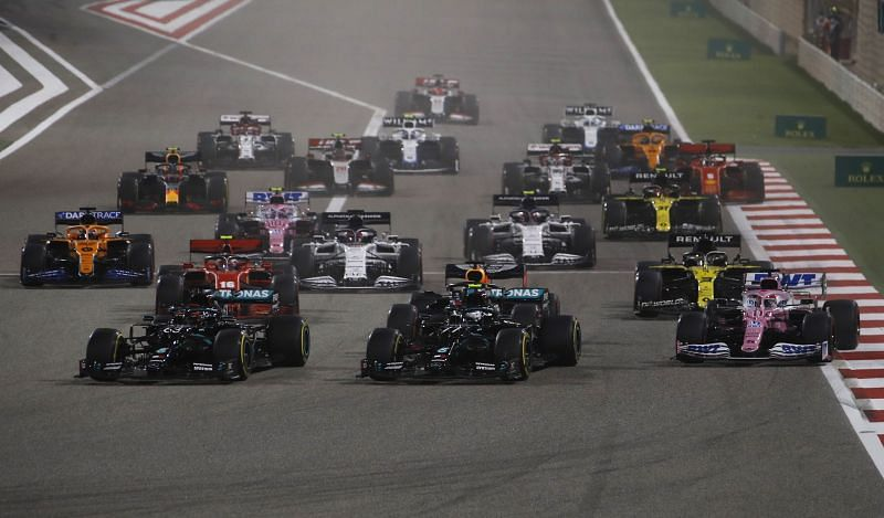The 20201Formula 1 season will kick off in Bahrain. Photo: Hamad Mohammad/Getty Images.