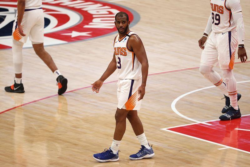 Chris Paul (#3) of the Phoenix Suns