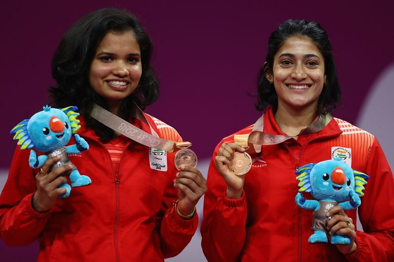 Sikki Reddy (left) and Ashwini Ponnappa are the women