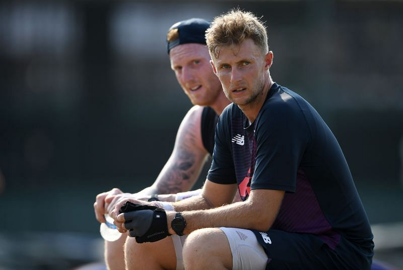 Ben Stokes and Joe Root of the England cricket team