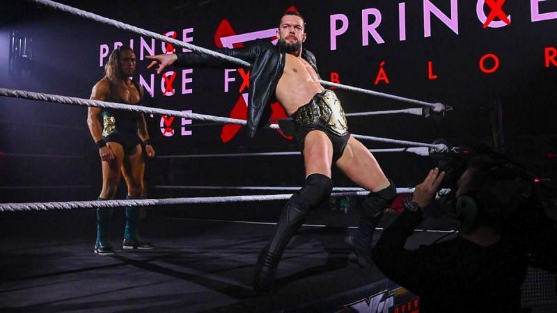 The NXT Champion Finn Balor