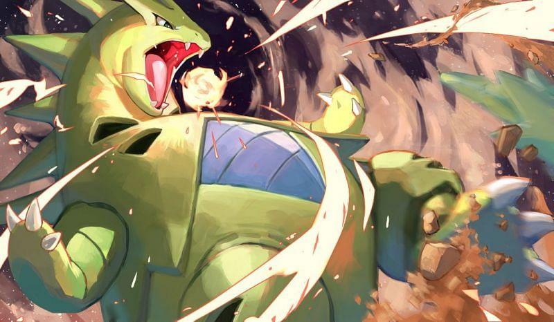 Tyranitar (Image via tapioka_chaso on Danbooru)
