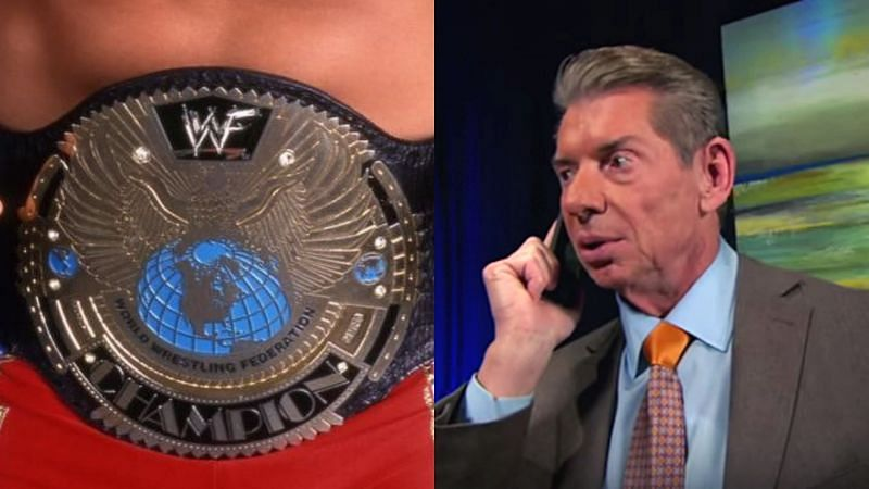 The WWF Championship in 2000, and Vince McMahon.