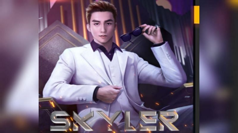 Skyler is currently available in Free Fire (Image via Garena Free Fire)