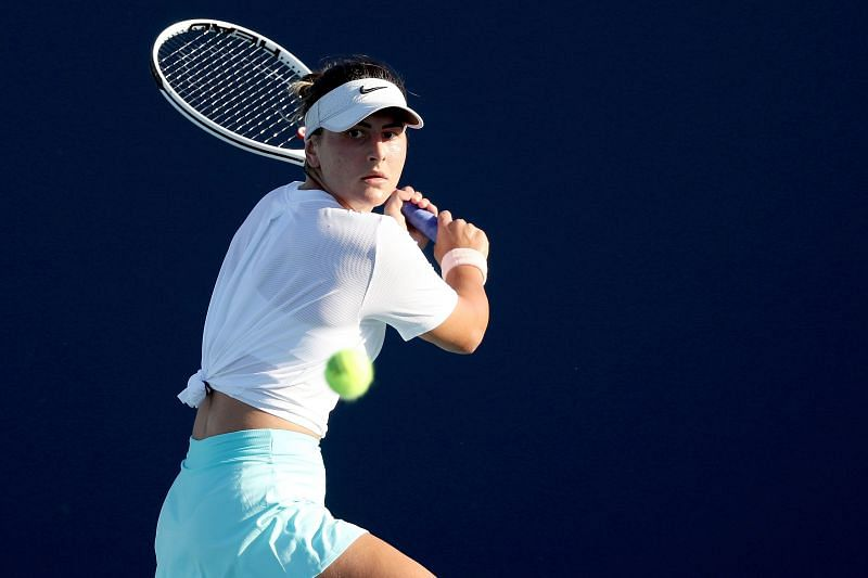 Bianca Andreescu will look to take on the role of the aggressor in the match.