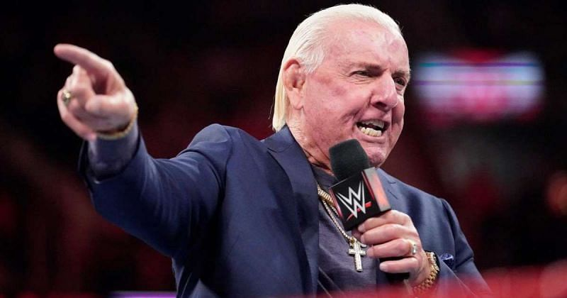 Ric Flair received WWE Hall of Fame inductions in 2008 (individual) and 2012 (Four Horsemen).