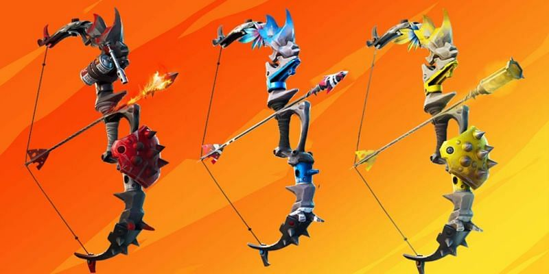 Three new ways to craft a set of new bow upgrades in Fortnite have been leaked (Image via Twitter)