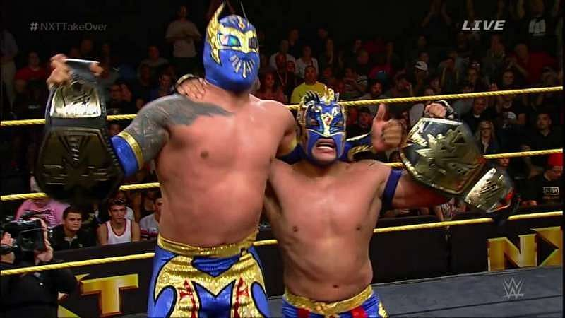 Sin Cara and Kalisto ended The Ascension