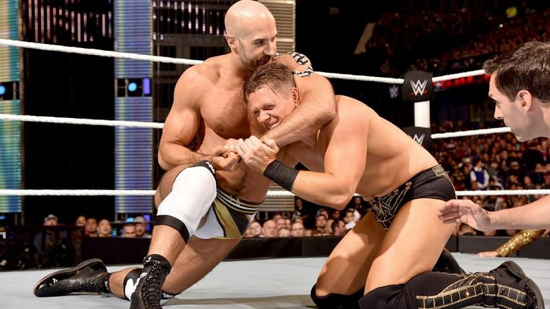 The Miz defeated Cesaro in an 11-minute match