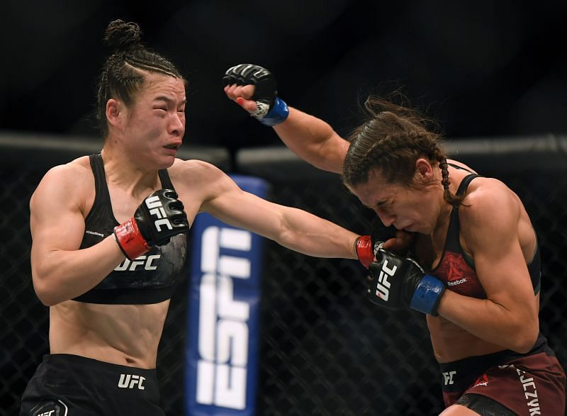 Joanna Jedrzejczyk has been on the shelf since her war with Weili Zhang at UFC 248.
