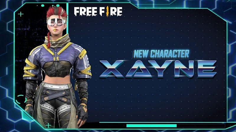 Free Fire OB27 में Xayne कैरेक्टर को जोड़ा गया