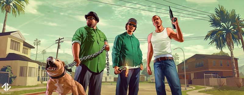 The advantages of playing GTA San Andreas far outweigh the disadvantages but it