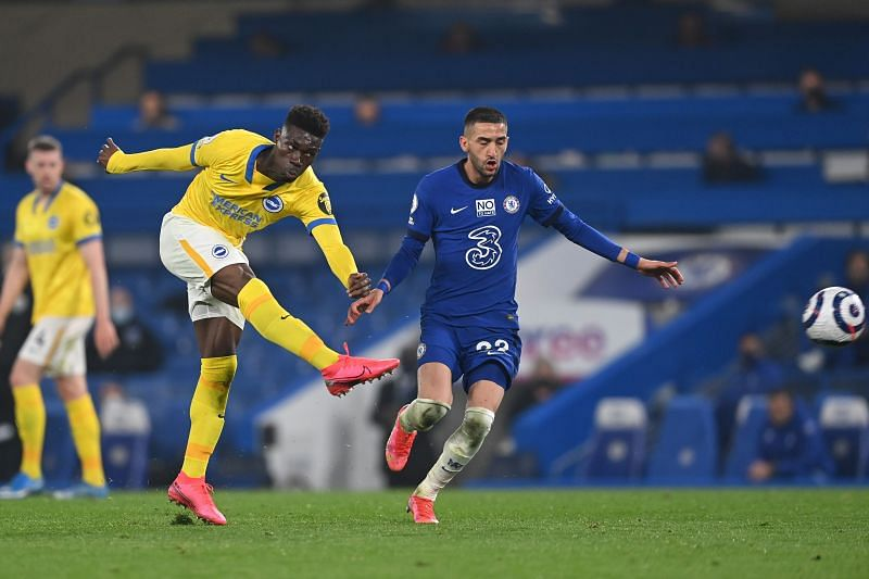 Chelsea and Brighton played out a goalless draw on Tuesday