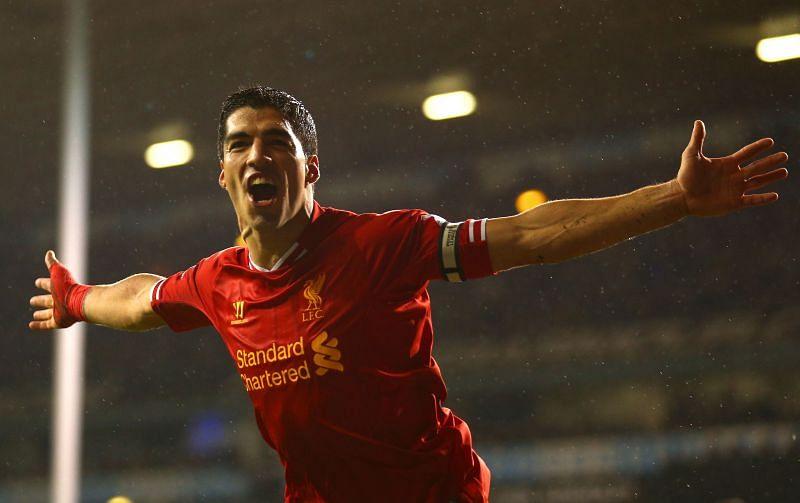 Former Liverpool superstar Luis Suarez