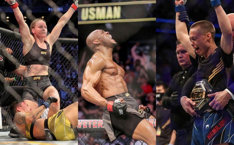 UFC 261: The Champions