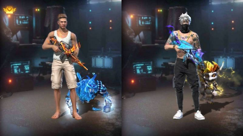 Comparing all the stats of Ajjubhai and Gyan Sujan in Garena Free Fire