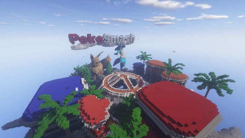 Poke-Smash is one of the biggest and best Minecraft Pixelmon servers