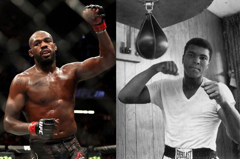 Jon Jones compares Francis Ngannou fight to Muhammad Ali classic