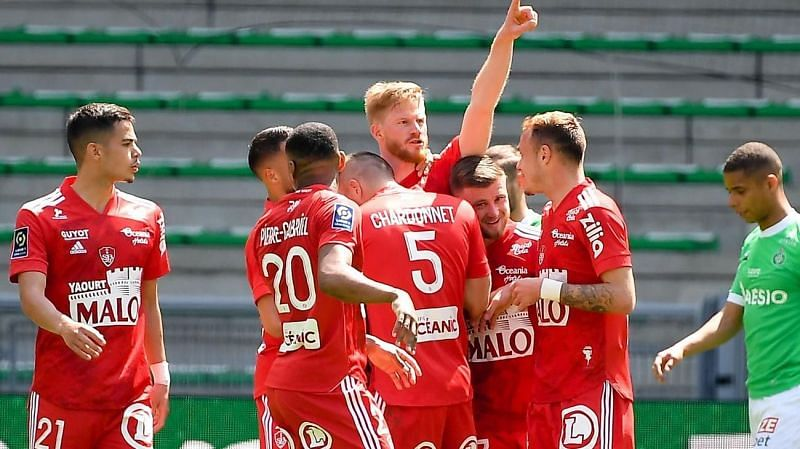Brest picked up a solid win over Saint-Etienne last weekend