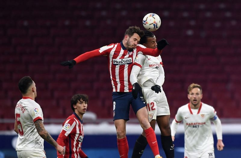 Atletico Madrid in action