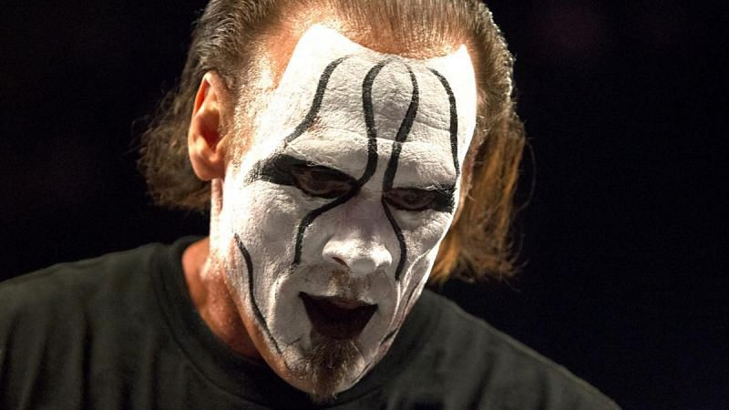 Sting now works for AEW